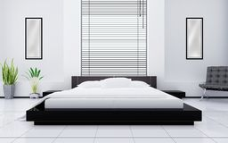 Light bedroom Royalty Free Stock Photography