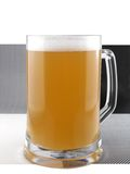Light beer cup Royalty Free Stock Images