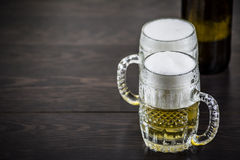 Light beer Royalty Free Stock Photography