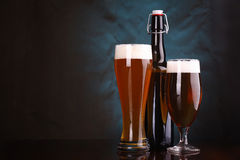 Light beer Stock Images
