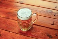 Light beer mug Stock Image