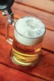 Light beer mug Stock Photos