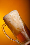 Light beer pouring Royalty Free Stock Image