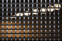 Light behind bars Stock Images