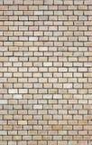 Light beige brick wall background Royalty Free Stock Image