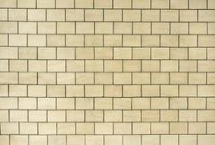 Light beige color Granite textured wall of ceramic tile stock photos