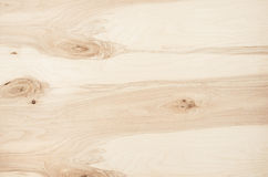 Light beige plywood vintage wood texture. Top view, wooden board.