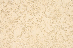 Light beige texture. Of a plastered wall royalty free stock photo