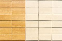 Light beige tile wall texture background Stock Image