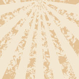 Light beige vector vintage background with rays Royalty Free Stock Images