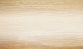 Light beige wood texture background. Natural pattern swatch horizontal template. Vector illustration Stock Photography