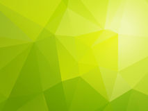 Light bio green triangular background Royalty Free Stock Images