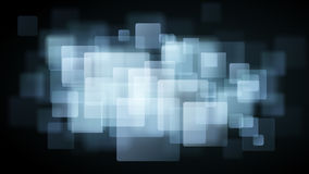Light blue abstract background of blurry squares Royalty Free Stock Images