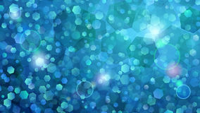 Light blue abstract background of small hexagons. Abstract background of small hexagons in light blue colors royalty free illustration