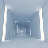 Light blue abstract empty 3d interior  background Royalty Free Stock Photos