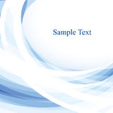 Light blue abstraction Royalty Free Stock Photos