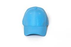 Light blue adult golf or baseball cap Stock Photo