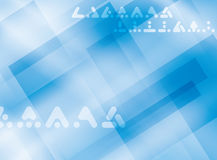 Light blue background with symbols - vector Royalty Free Stock Photo