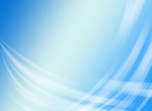 Light blue background with wavy lines Royalty Free Stock Photo