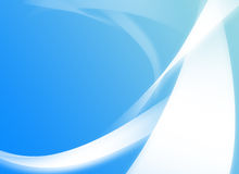 Light blue background with white abstractions Stock Images