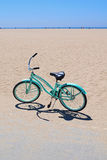 Light Blue Bike Stock Photo