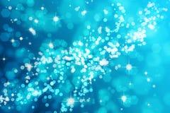 Light blue bokeh background Royalty Free Stock Photos