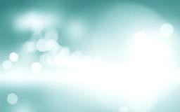 Light Blue Bokeh Background Blurred Sky Design, Cloudy White Paint With Blue Blurry Border, Fresh Spring Colors Background Stock Photo