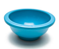 Light Blue Bowl Royalty Free Stock Image