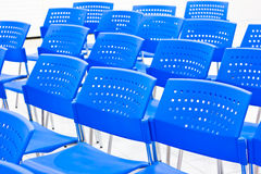 Light blue chair Royalty Free Stock Image