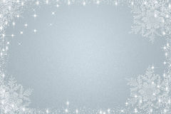 Light blue christmas background Royalty Free Stock Image