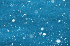 Light Blue Christmas Paper Background, Copy Space, Snowflakes. Light Blue Wrapping Paper As Christmas Background Or Texture. Copy Space For Advertisement Or Your royalty free stock photography