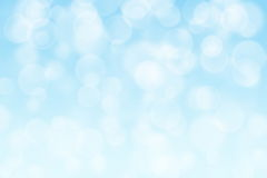 Light blue circle shape boke background Stock Photography
