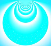 Light Blue Circles From Heaven stock illustration