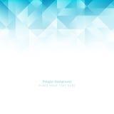 Light blue color polygonal shape background Royalty Free Stock Image