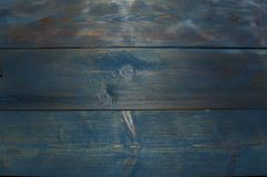 Light blue colored wooden background. Texture Royalty Free Stock Photo