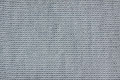 Light blue cotton fibres. Sample of light blue dyed textile fibres from 100% cotton. Cotton fiber is a natural fiber. Soft and comfortable to wear, absorbent and royalty free stock photography