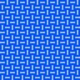 Light Blue Cross Weave Repeat Pattern Background Stock Photo