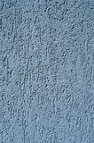 Light blue decorative relief plaster on wall. Closeup royalty free stock photography