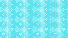 Light blue delightful Floral repeating pattern background. Suitable for seasonal and festive decorative design Stock Photos