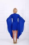 Light blue dress Royalty Free Stock Photo