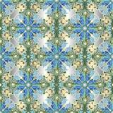 Light blue elegance 3d Damask vector seamless pattern. Ornamenta. L Baroque background. Vintage beautiful floral ornament in victorian style. Ornate decorative stock illustration