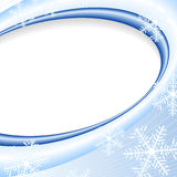 Light Blue Elegant Christmas Background Stock Images