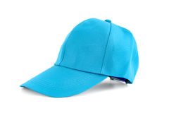 Light blue fabric cap Royalty Free Stock Photos