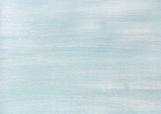 Light blue faded painted wooden texture, background and wallpaper Royalty Free Stock Images