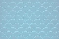 Light blue fish scale seamless pattern Stock Image