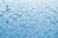 Light blue frozen glass Stock Photo