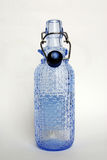 Light blue Galss bottle Royalty Free Stock Photos