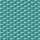 Light blue geometric pattern. Light green-blue geometric pattern Stock Images