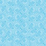 Seamless vector patter of concentric circles created with stripe royalty free illustration