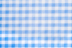 Light Blue Gingham Background. Light Blue Gingham or checked tablecloth background Royalty Free Stock Images
